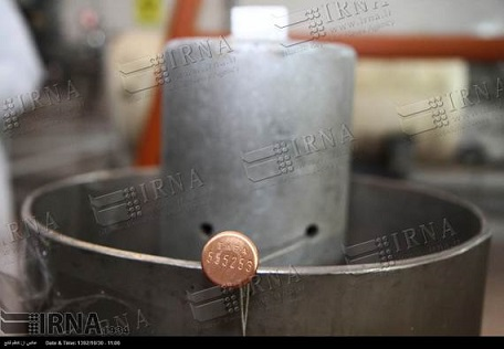 پلمپ تجهیزات هسته ای شهید احمدی روشن نطنز